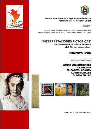 La Misión Permanente de la República Bolivariana de Venezuela ante las Naciones Unidas  PRESENTA