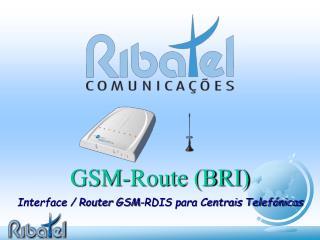 GSM-Route (BRI)