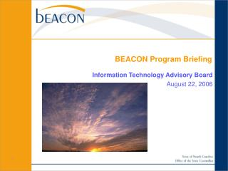 BEACON Program Briefing