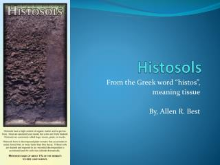 Histosols