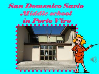 San Domenico Savio  Middle school  in Porto Viro