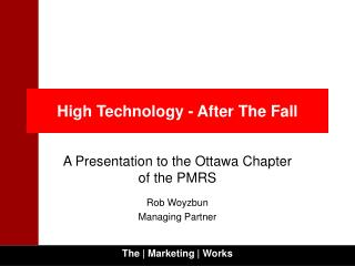 High Technology - After The Fall