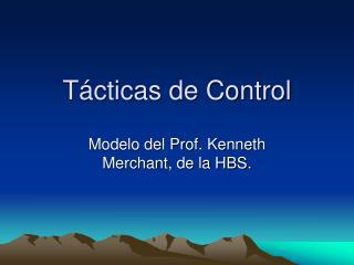 Tácticas de Control