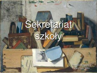Sekretariat szkoły