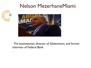 Nelson Mezerhane Miami