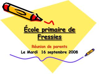 École primaire de Fressies