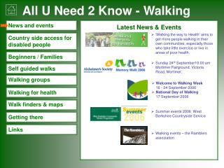Latest News & Events