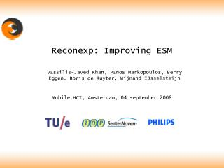 Reconexp: Improving ESM