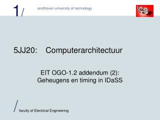 5 JJ2 0:Computerarchitectuur