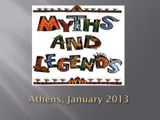 Athens, January 2013