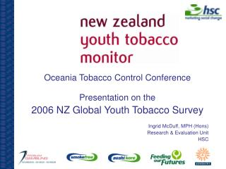 Oceania Tobacco Control Conference Presentation on the 2006 NZ Global Youth Tobacco Survey