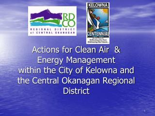 Central Okanagan Regional Air Quality Program