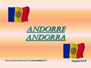 Andorre Andorra