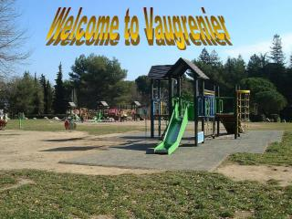 Welcome to Vaugrenier