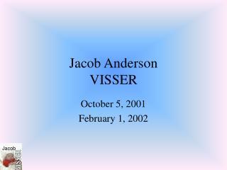 Jacob Anderson VISSER