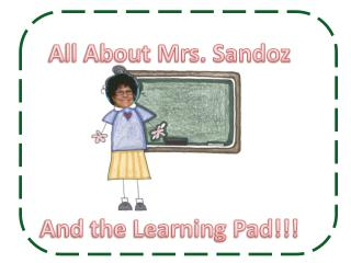All About Mrs. Sandoz