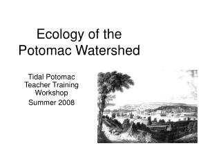 Ecology of the Potomac Watershed