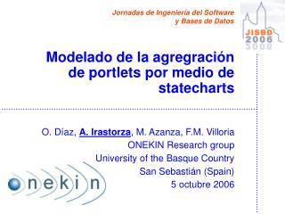 Modelado de la agregración de portlets por medio de statecharts