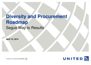 Diversity and Procurement Roadmap