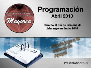 Programaci�n