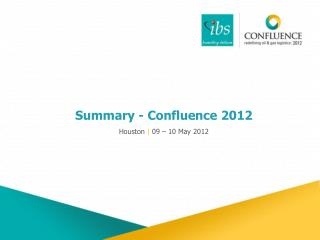 Summary - Confluence 2012
