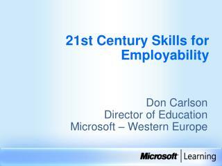 21st Century Skills for Employability