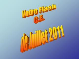 Votre Flash  C.E.