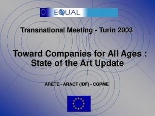 Transnational Meeting - Turin 2003