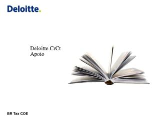 Deloitte CrCt Apoio
