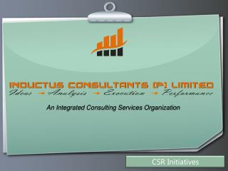 An Integrated Consulting Services Organization
