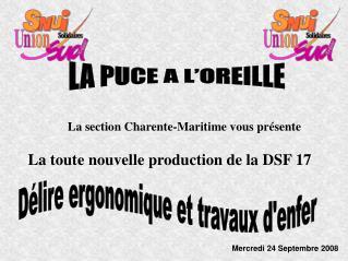 La section Charente-Maritime vous présente