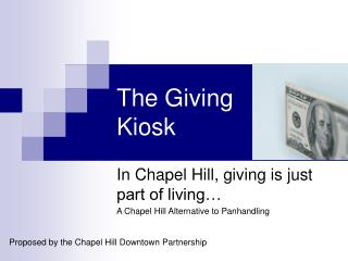 The Giving Kiosk