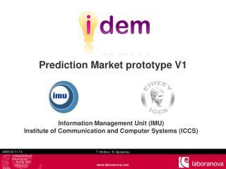 Prediction Market prototype V1