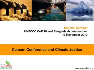 Cancun Conference and Climate Justice