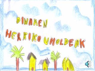 Ozeanoaren beste aldean, Dina bizi zen, begi beltz handiak zituen neskato bat.