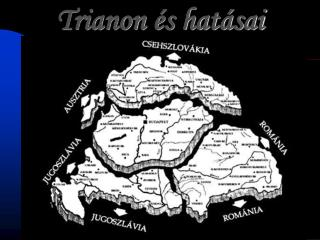 Trianon és hatásai