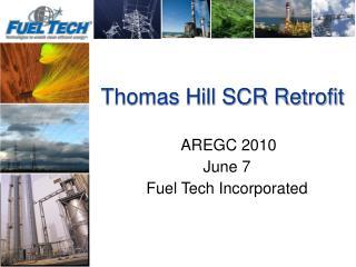 Thomas Hill SCR Retrofit