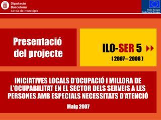 Presentació  del projecte