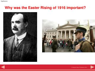 Why was the Easter Rising of 1916 important?