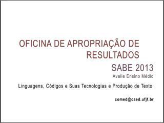 OFICINA DE APROPRIAÇÃO DE RESULTADOS