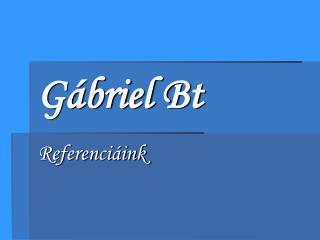Gábriel Bt