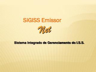 SIGISS Emissor