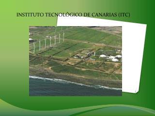 INSTITUTO TECNOL�GICO DE CANARIAS (ITC)