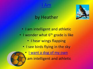 I Am by Heather