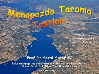 Prof.Dr.Sezai ŞAHMAY