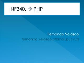 INF340.   PHP
