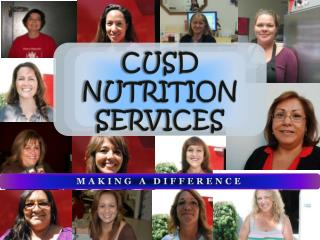 CUSD NUTRITION SERVICES