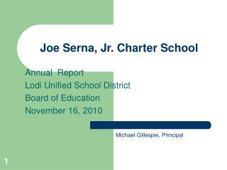 Joe Serna, Jr. Charter School