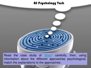 AS Psychology Task