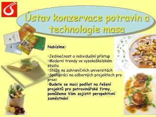Ústav konzervace potravin a technologie masa